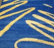 Высоковорсный ковер Shaggy 0791 синий - высокое качество по лучшей цене в Украине.