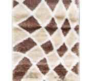 Высоковорсный ковер Softy 3D 2477A White - высокое качество по лучшей цене в Украине.