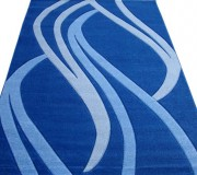 Синтетический ковер SENFONY 1771 blue-blue - высокое качество по лучшей цене в Украине.