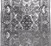 Иранский ковер Black&White 1726 - высокое качество по лучшей цене в Украине.