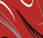 Синтетический ковер Elana 4882 red-black - высокое качество по лучшей цене в Украине.