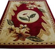 Синтетический ковер Exellent 0497A burgundy - высокое качество по лучшей цене в Украине.