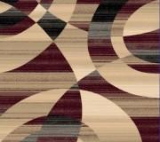 Синтетический ковер Faust 4332B burgundy - высокое качество по лучшей цене в Украине.
