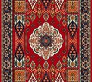 Иранский ковер Gollestan Kashkooli D.Red - высокое качество по лучшей цене в Украине.