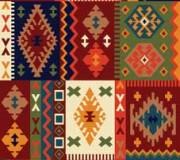 Иранский ковер Gollestan Kokab D.Red - высокое качество по лучшей цене в Украине.