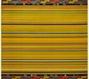 Синтетический ковер Kamal Lime - высокое качество по лучшей цене в Украине.