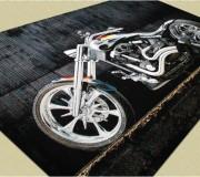 Ковер картина с мотоциклом Kolibri (Колибри) 11185/180 - высокое качество по лучшей цене в Украине.
