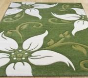 Синтетический ковер Legenda 0331 ромашка зелёный - высокое качество по лучшей цене в Украине.