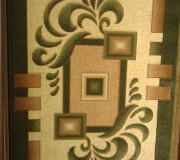 Синтетический ковер Liliya 0596 зеленый - высокое качество по лучшей цене в Украине.