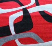 Синтетический ковер Lotus 0004 красный - высокое качество по лучшей цене в Украине.