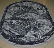 Синтетический ковер Magnoliya Silver мрамор серый - высокое качество по лучшей цене в Украине.
