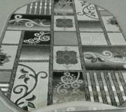 Синтетический ковер Magnoliya 0121 серый - высокое качество по лучшей цене в Украине.