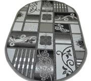 Синтетический ковер Magnolia 3647A silver - высокое качество по лучшей цене в Украине.