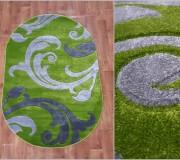 Синтетический ковер Melisa 313 green - высокое качество по лучшей цене в Украине.