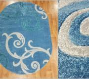 Синтетический ковер Melisa 395 blue - высокое качество по лучшей цене в Украине.