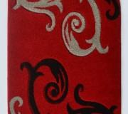 Синтетический ковер Melisa 395 red - высокое качество по лучшей цене в Украине.