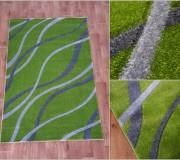 Синтетическая ковровая дорожка Melisa 355 green - высокое качество по лучшей цене в Украине.