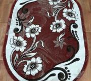 Синтетический ковер Meral 168 red - высокое качество по лучшей цене в Украине.