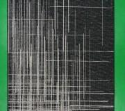 Синтетический ковер Natura 20488 Black-Silver - высокое качество по лучшей цене в Украине.