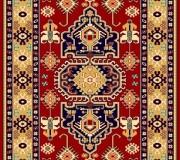 Иранский ковер Pazirik Touba D.Red - высокое качество по лучшей цене в Украине.