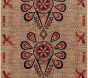 Шерстяной ковер Folk Parzenica 1 Len - высокое качество по лучшей цене в Украине.