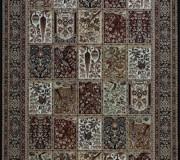 Шерстяной ковер Isfahan Timor black - высокое качество по лучшей цене в Украине.