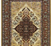 Шерстяной ковер Isfahan Leyla amber - высокое качество по лучшей цене в Украине.