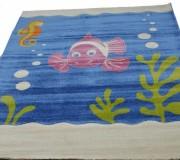 Детский ковер Daisy Fulya 8C95b blue - высокое качество по лучшей цене в Украине.