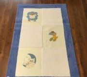 Детский ковер Egeberk EG 7 , BLUE WHITE - высокое качество по лучшей цене в Украине.