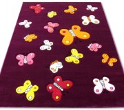 Детский ковер Kids A667A dark purple - высокое качество по лучшей цене в Украине.