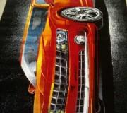 Ковер картина с авто Kolibri (Колибри) 11374-120 - высокое качество по лучшей цене в Украине.