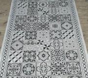 Безворсовая ковровая дорожка Natura 20369 Silver-Black - высокое качество по лучшей цене в Украине.