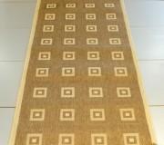 Безворсовая ковровая дорожка Sisal 012 GOLD-BEIGE - высокое качество по лучшей цене в Украине.