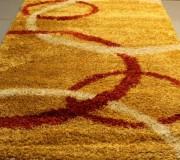 Высоковорсная ковровая дорожка Shaggy Gold 8018 d.yellow (gold) - высокое качество по лучшей цене в Украине.