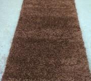 Высоковорсная ковровая дорожка Shaggy Mono 0720 коричневый - высокое качество по лучшей цене в Украине.