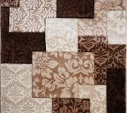 Синтетическая ковровая дорожка DaisyCarving 8430A brown - высокое качество по лучшей цене в Украине.