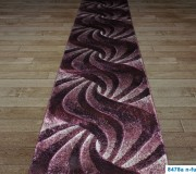 Синтетическая ковровая дорожка Daisy Carving 8478A fujya - высокое качество по лучшей цене в Украине.