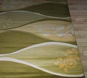 Синтетическая ковровая дорожка Exellent Carving 2885A l.green-green - высокое качество по лучшей цене в Украине.