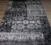 Синтетическая ковровая дорожка Festival 7955A black-l.grey - высокое качество по лучшей цене в Украине.