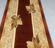 Синтетическая ковровая дорожка Liliya 0557 бордо - высокое качество по лучшей цене в Украине.