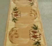 Синтетическая ковровая дорожка Liliya 0571 беж - высокое качество по лучшей цене в Украине.