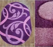 Синтетическая ковровая дорожка Melisa 303 violet - высокое качество по лучшей цене в Украине.