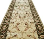 Синтетическая ковровая дорожка Selena / Lotos 523-130 green - высокое качество по лучшей цене в Украине.