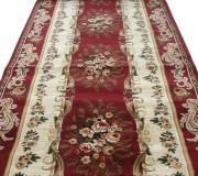 Синтетическая ковровая дорожка Selena / Lotos 535-210 red - высокое качество по лучшей цене в Украине.