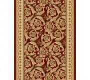 Синтетическая ковровая дорожка Selena / Lotos 539-210 red - высокое качество по лучшей цене в Украине.