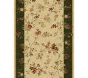 Синтетическая ковровая дорожка Selena / Lotos 551-130 green - высокое качество по лучшей цене в Украине.