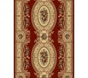 Синтетическая ковровая дорожка Selena / Lotos 567-210 red - высокое качество по лучшей цене в Украине.