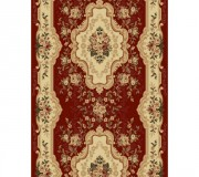 Синтетическая ковровая дорожка Selena / Lotos 570-210 red - высокое качество по лучшей цене в Украине.