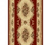 Синтетическая ковровая дорожка Selena / Lotos 574-210 red - высокое качество по лучшей цене в Украине.