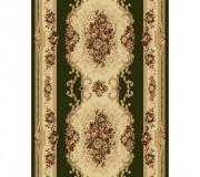 Синтетическая ковровая дорожка Selena / Lotos 574-310 green - высокое качество по лучшей цене в Украине.